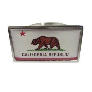 California State Flag Fashion Ring